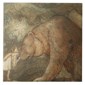 John Bauer - Poor Little Basse Tile