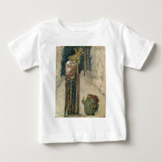 John Bauer - Princess and Troll Baby T-Shirt