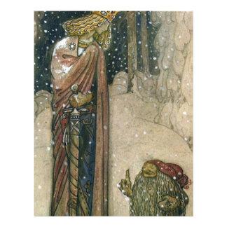 John Bauer - Princess and Troll Letterhead