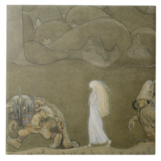 John Bauer - The Princess and the Trolls Tile