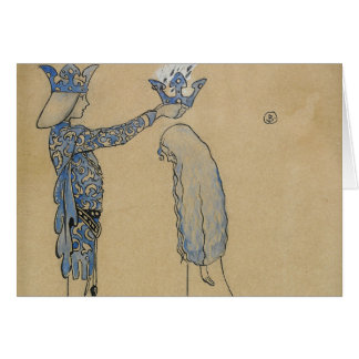 John Bauer - Then Put the Prince a Crown of Gold Card