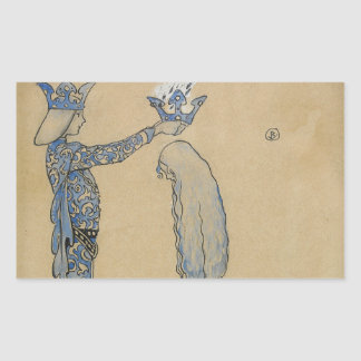 John Bauer - Then Put the Prince a Crown of Gold Sticker