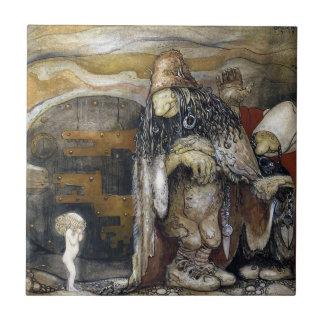 John Bauer Troll Tile