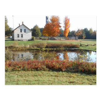 John Brown Farm Historic Adirondack Autumn Grave Postcard