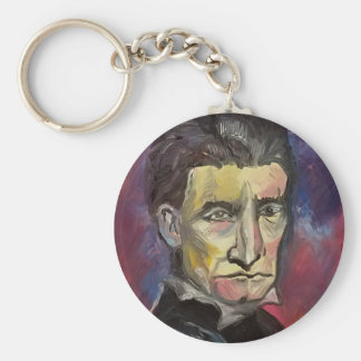 John Brown #Insta Basic Round Button Keychain