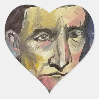 John Brown #Insta Heart Sticker