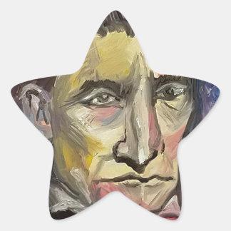 John Brown #Insta Star Sticker