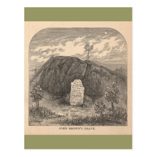 John Brown's Grave Postcard