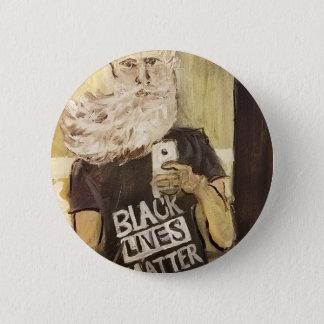 John Brown Selfie/Black Lives Matter 2 Inch Round Button