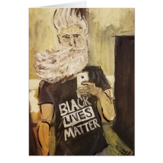 John Brown Selfie/Black Lives Matter Card