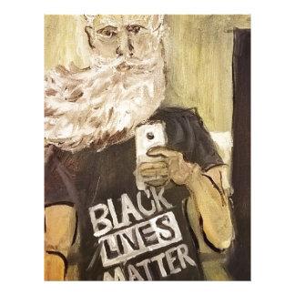 John Brown Selfie/Black Lives Matter Letterhead