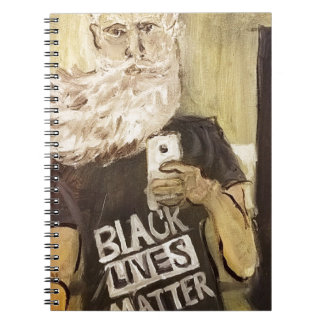 John Brown Selfie/Black Lives Matter Notebook