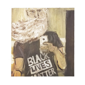 John Brown Selfie/Black Lives Matter Notepad