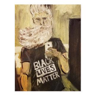 John Brown Selfie/Black Lives Matter Postcard