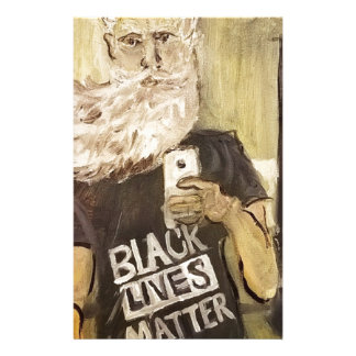 John Brown Selfie/Black Lives Matter Stationery