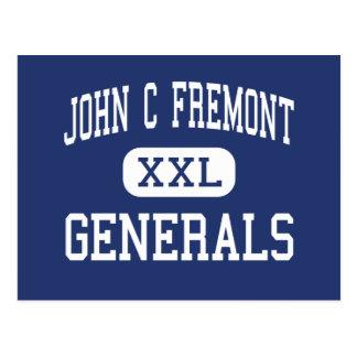 John C Fremont Generals Middle Roseburg Postcard
