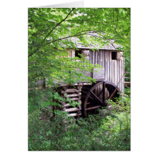 John Cable Grist Mill Card