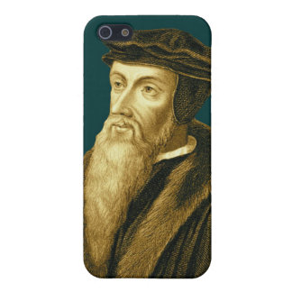 John Calvin iPhone4 Case in Sola Scriptura Cyan Cover For iPhone 5/5S