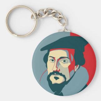 John Calvin Keychain