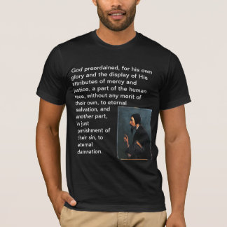 John Calvin T-Shirt With Quote