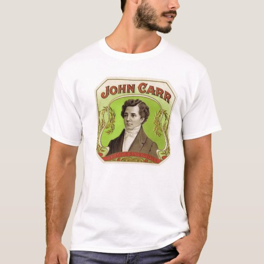 John Carr cigar box label T-Shirt