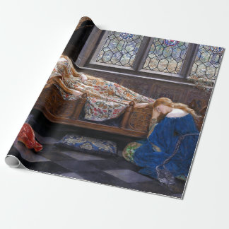 John Collier The Sleeping Beauty Wrapping Paper