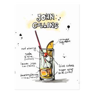 John Collins Postcard