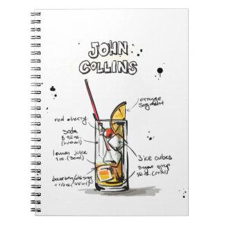 John Collins Spiral Notebook