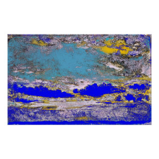 John Constable - A Cloud Study (Modified) Poster