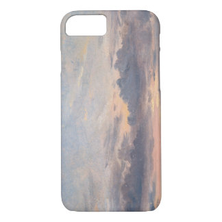 John Constable - A Cloud Study, Sunset iPhone 7 Case
