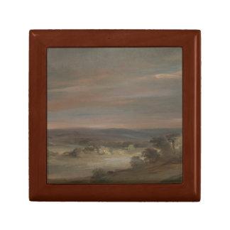 John Constable - A View on Hampstead Heath Keepsake Box