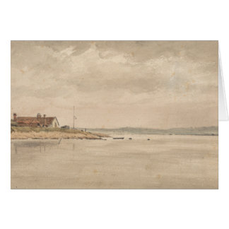 John Constable - A View on the Orwell Card