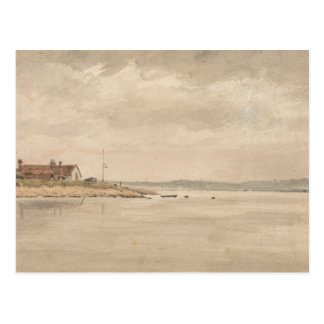 John Constable - A View on the Orwell Postcard