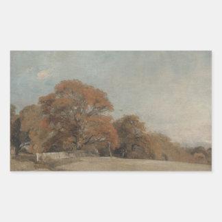 John Constable - An Autumnal Landscape