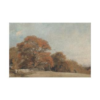 John Constable - An Autumnal Landscape Canvas Print