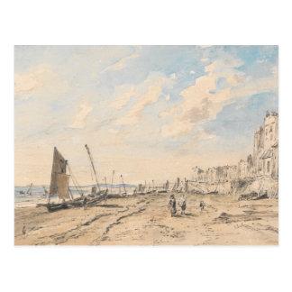 John Constable - Brighton Beach Looking West Postcard
