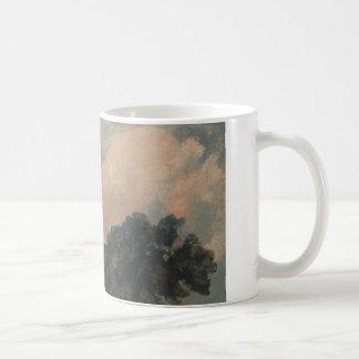 John Constable - Cloud Study with Trees Coffee Mug