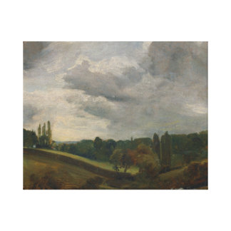 John Constable - East Bergholt Canvas Print