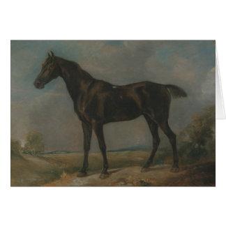 John Constable - Golding Constable's Black Riding Card