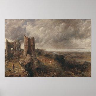 John Constable - Hadleigh Castle Poster