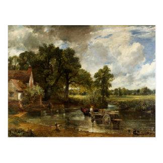 John Constable Hay Wain Postcard