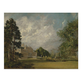 John Constable - Malvern Hall, Warwickshire Postcard