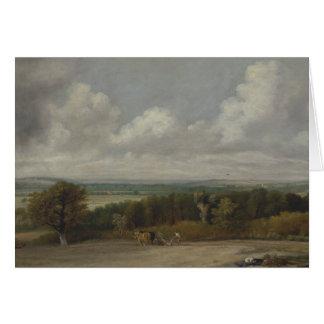John Constable - Ploughing Scene in Suffolk Card
