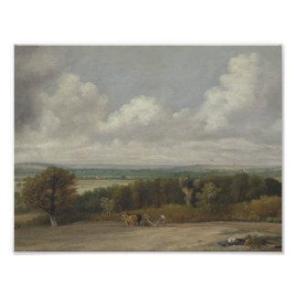 John Constable - Ploughing Scene in Suffolk Photograph