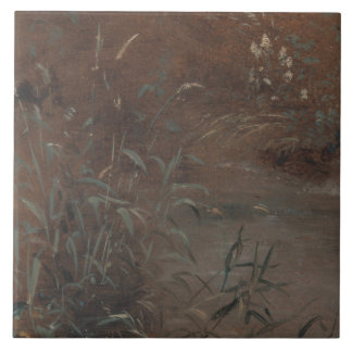 John Constable - Rushes by a Pool Tiles