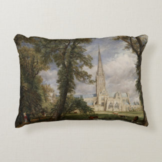 John Constable - Salisbury Cathedral Accent Pillow