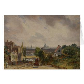 John Constable - Sir Richard Steele's Cottage Card