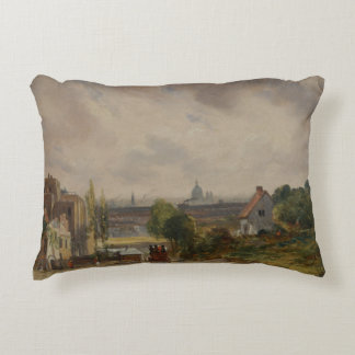 John Constable - Sir Richard Steele's Cottage Decorative Pillow