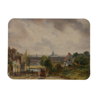 John Constable - Sir Richard Steele's Cottage Rectangular Photo Magnet