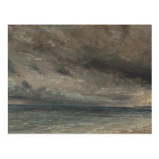 John Constable - Stormy Sea, Brighton Postcard